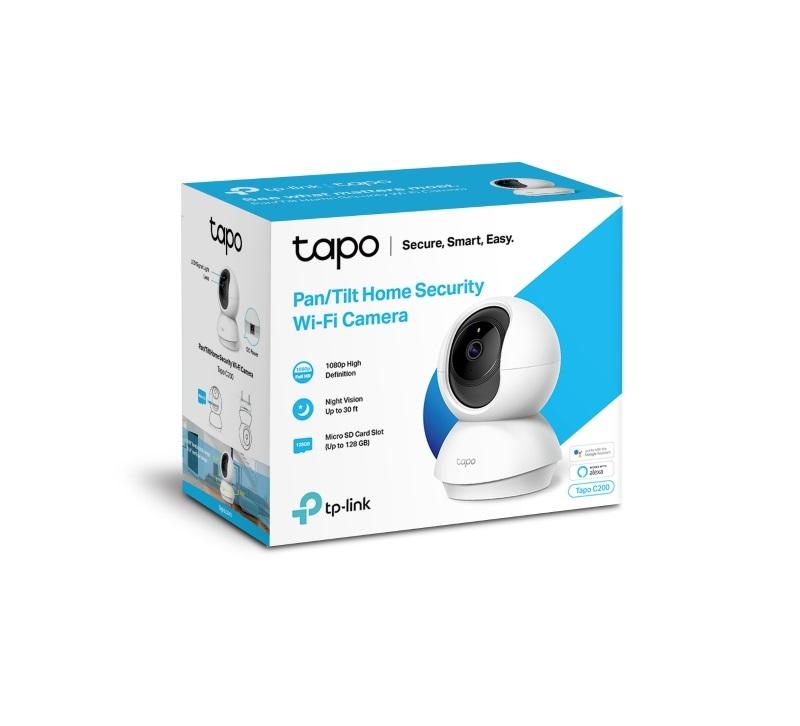 TP-Link Tapo C200 wifi無線智慧可旋轉高清網路攝影機監視器IP CAM / Tapo C200