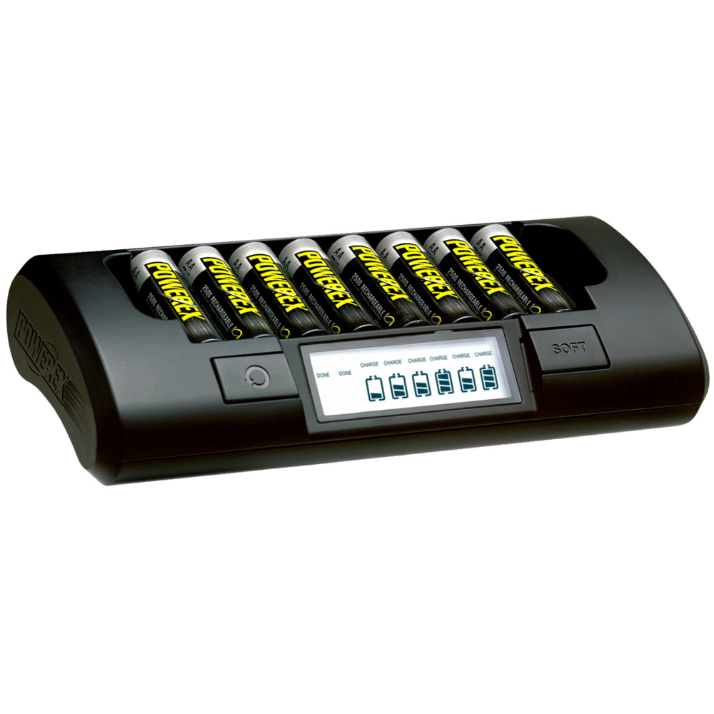POWEREX 智慧型快速/八通道充電器 (2A)MH-C801D