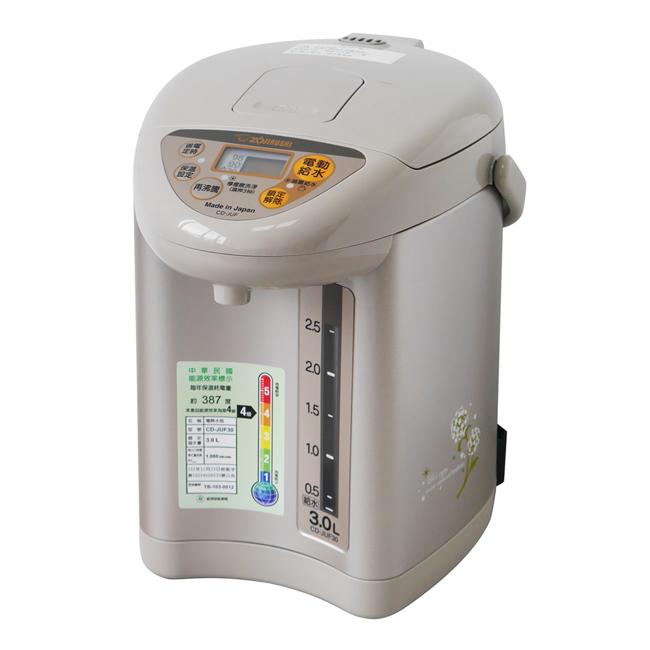 【象印】3公升微電腦電動給水熱水瓶 CD-JUF30