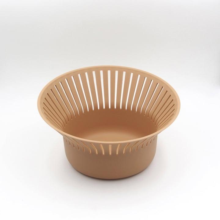 OMMO Ruff 圓形高置物籃/裸色