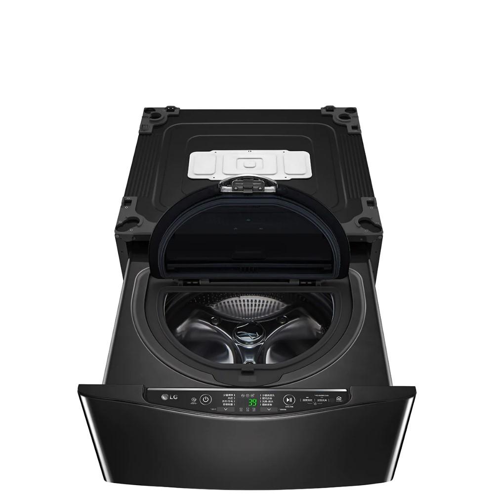 LG樂金2.5公斤溫水不鏽鋼銀色下層洗衣機WT-D250HB