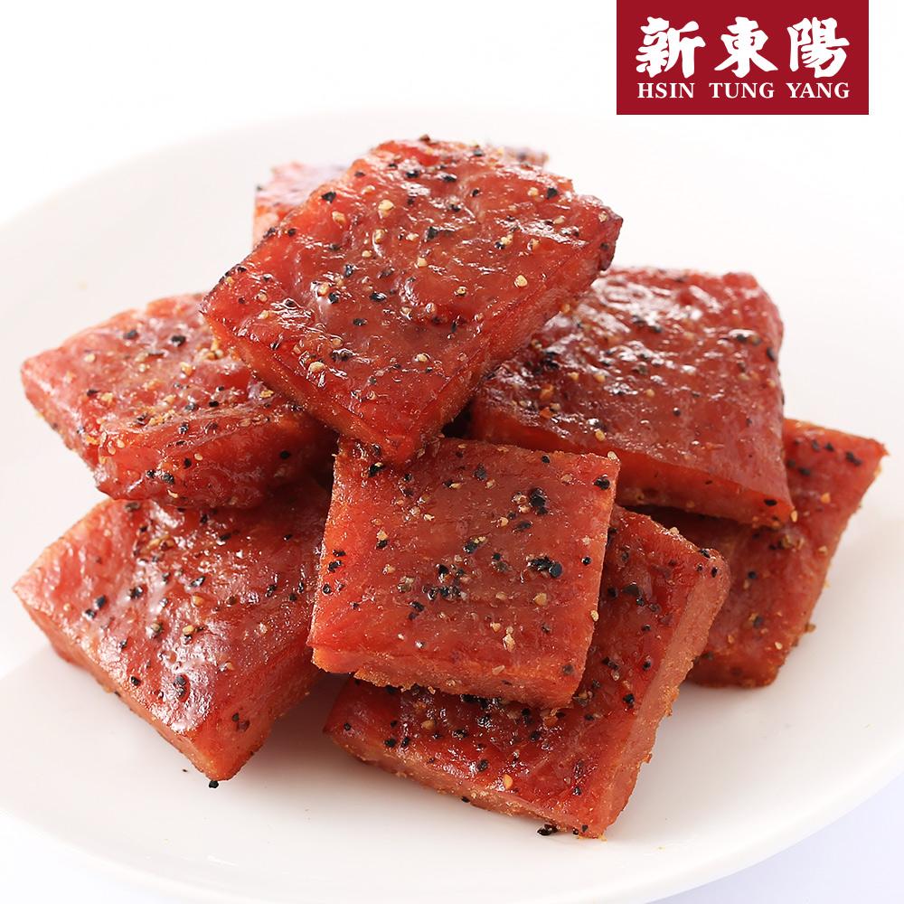 【新東陽】I-mini黑胡椒厚片肉乾 (105g*5包),免運