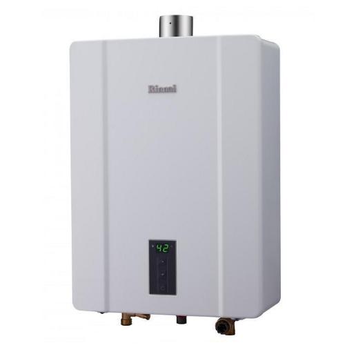 (全省安裝)林內16公升數位恆溫強制排氣屋內(與RUA-C1600WF同款)熱水器RUA-C1600WF_LPG
