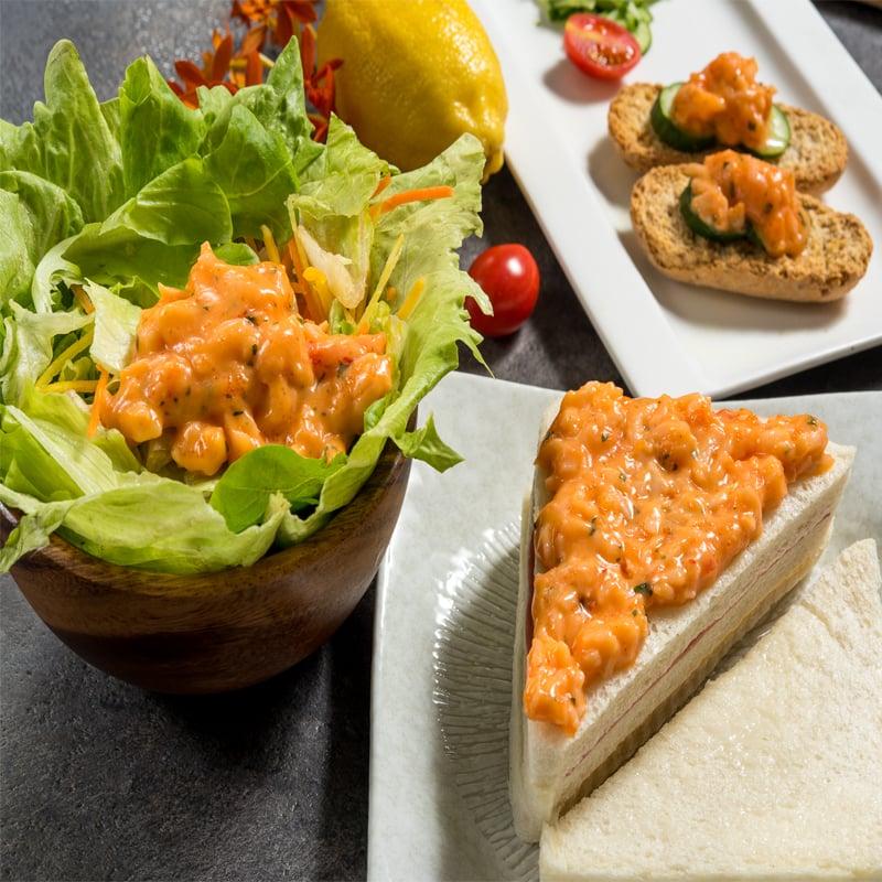 【鮮綠生活】龍蝦舞沙拉(250G/包) * 4包