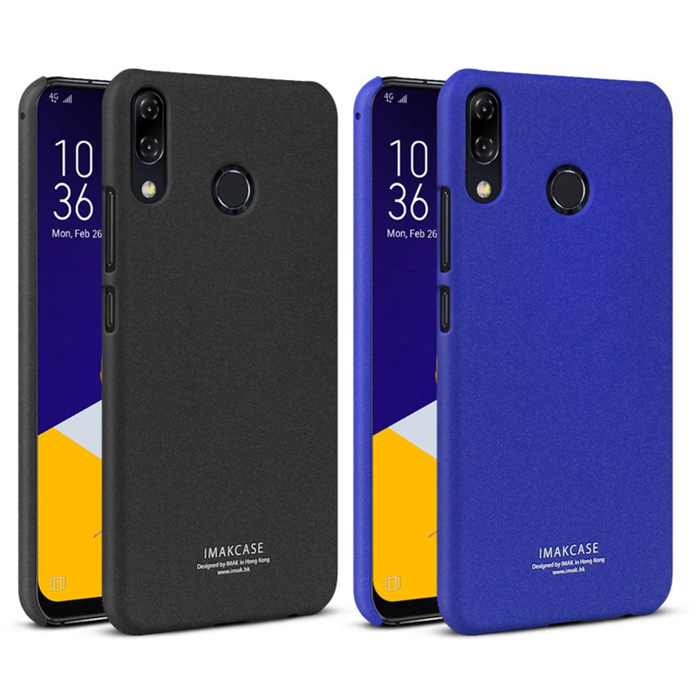 Imak ASUS ZenFone 5(2018)/5Z 創意支架牛仔殼(磨砂黑)
