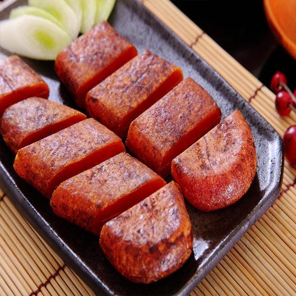 《東港華得》碳烤一口包野生烏魚子禮盒(4兩/盒,附提袋)