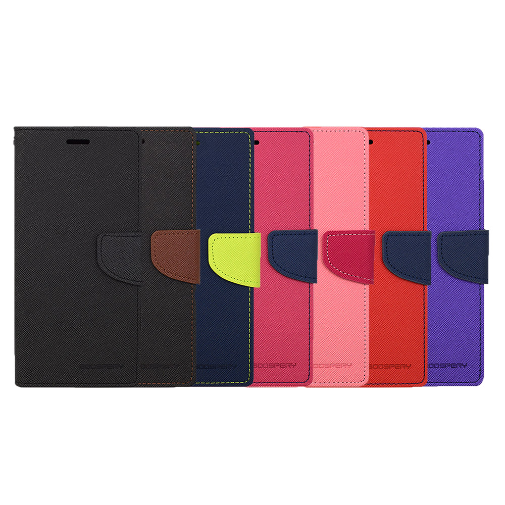 GOOSPERY HTC Desire 12+ FANCY 雙色皮套(藍綠)
