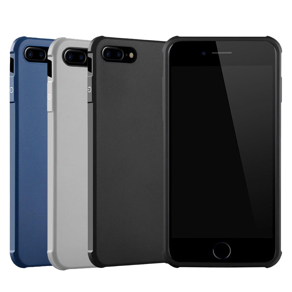 QinD Apple iPhone 8 Plus/7 Plus 刀鋒保護套(藍色)