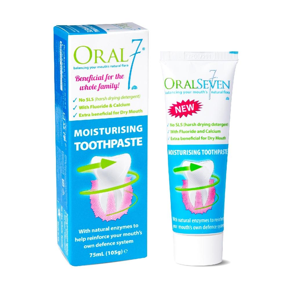 ORAL7 口立淨7 酵素護理牙膏 75ml