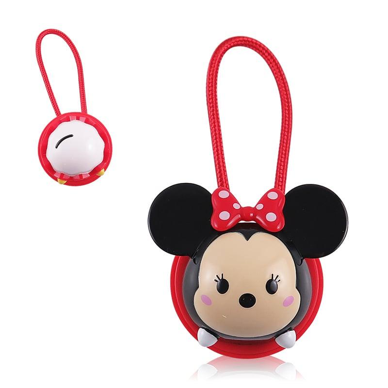 Disney迪士尼TsumTsum 米妮 公仔原廠認證Apple Lightning造型伸縮傳輸線