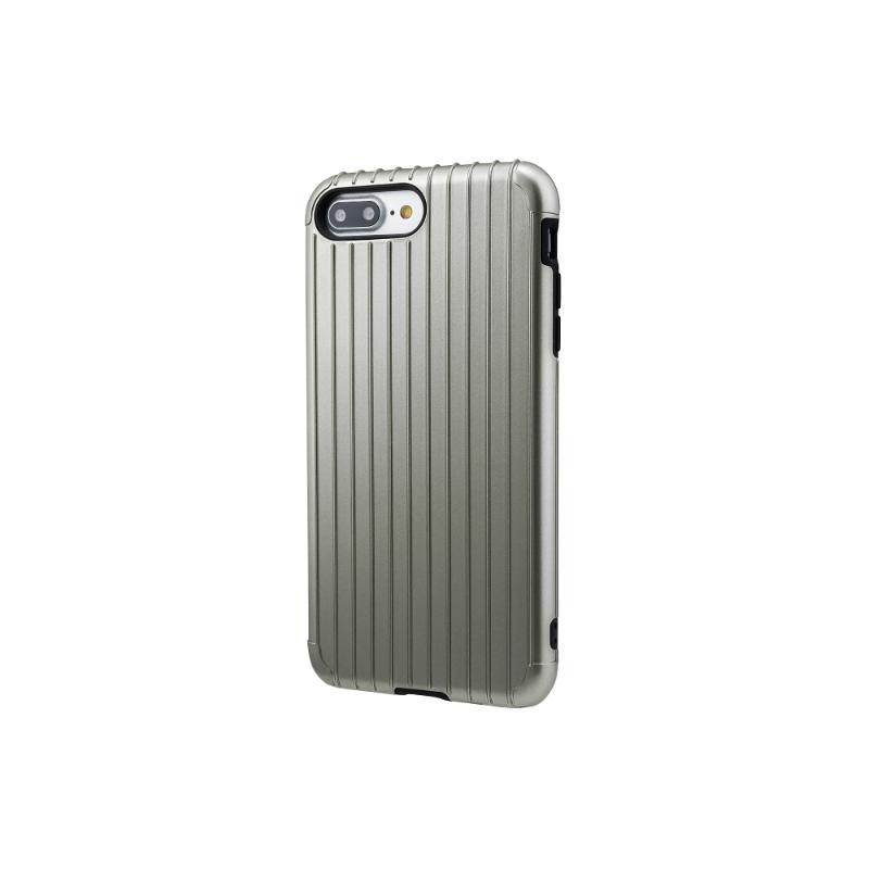 Gramas iPhone 8Plus/7Plus 經典手機殼 Rib 灰