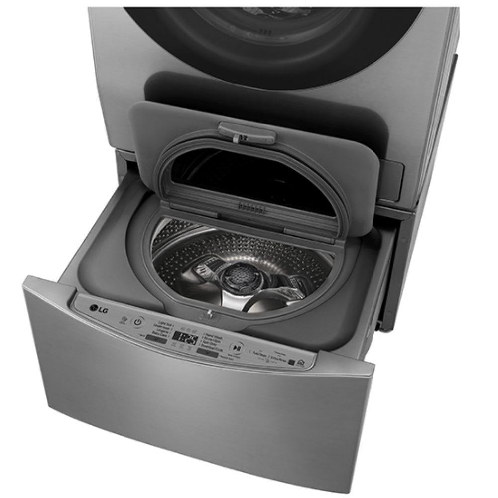 LG樂金不鏽鋼銀色下層2公斤溫水洗衣機WT-D200HV