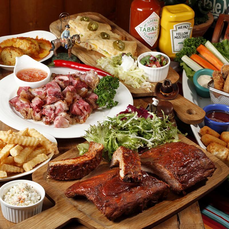 冒煙的喬經典分享餐(建議份量2~3人)