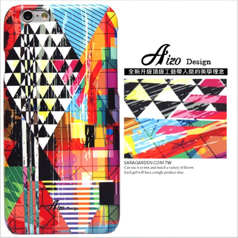 【AIZO】客製化 手機殼 Samsung 三星 J5 2016 幾何 三角 圖騰 保護殼 硬殼