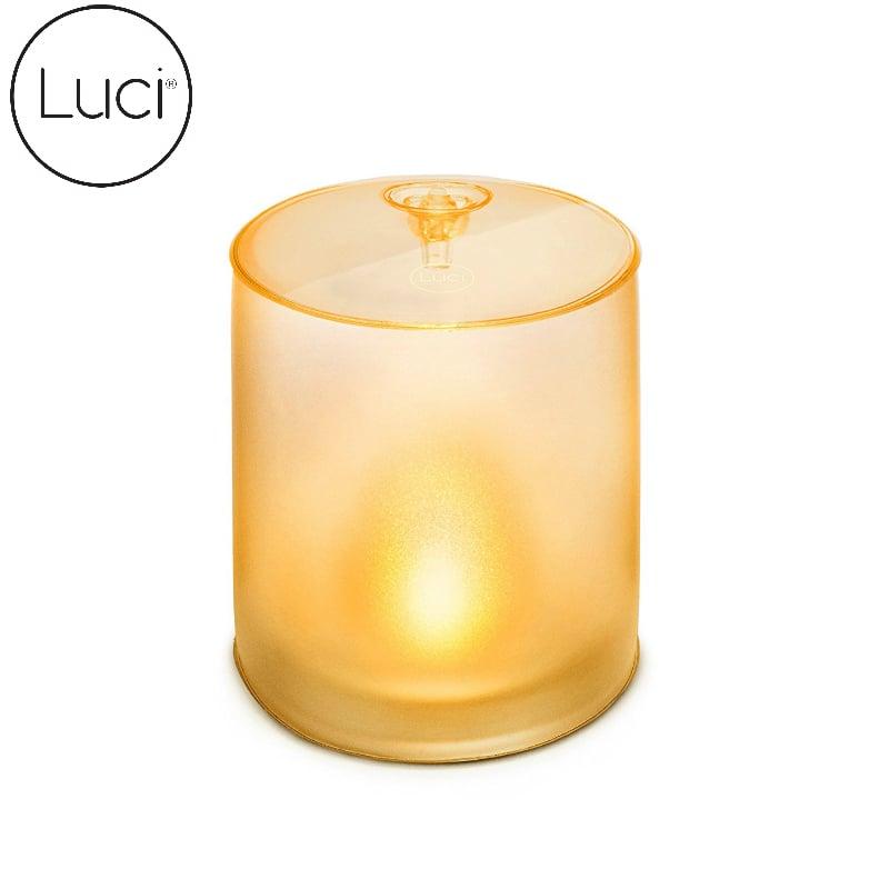 【美國LUCI 】充氣式太陽能LED燈-Candle浪漫燭光