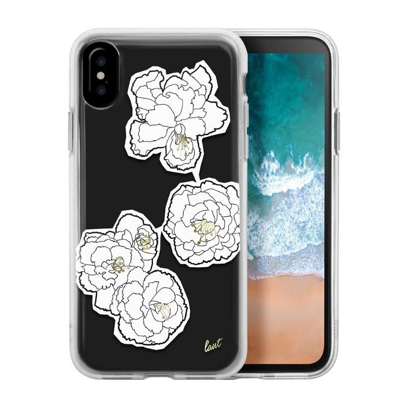 LAUT  POP 黑白花手機保護殼iPhone X