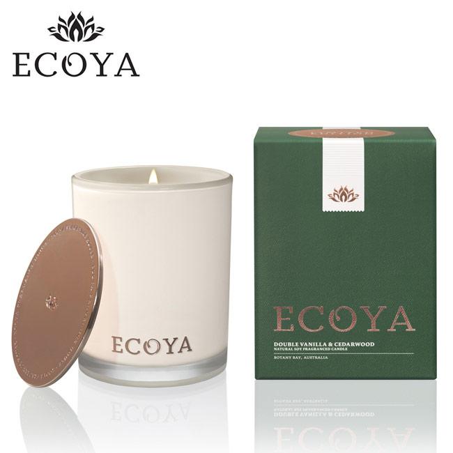 澳洲ECOYA 高雅香氛蠟燭-香草松木 400g