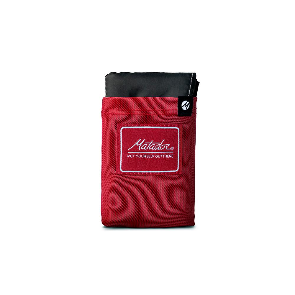美國鬥牛士 Matador Pocket Blanket 3.0 戶外迷你口袋型野餐墊 2-4人用 紅色