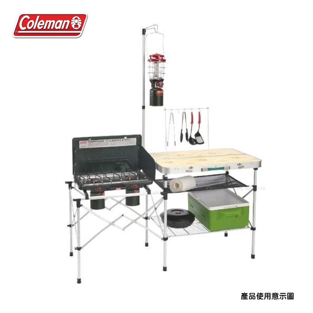 Coleman 輕便廚房桌 露營桌 行動廚房 折疊桌 CM-3126J