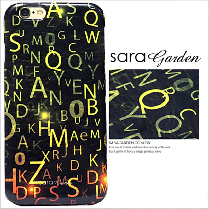 【Sara Garden】客製化 手機殼 蘋果 iPhone7 iphone8 i7 i8 4.7吋 科技 漸層 光暈 保護殼 硬殼