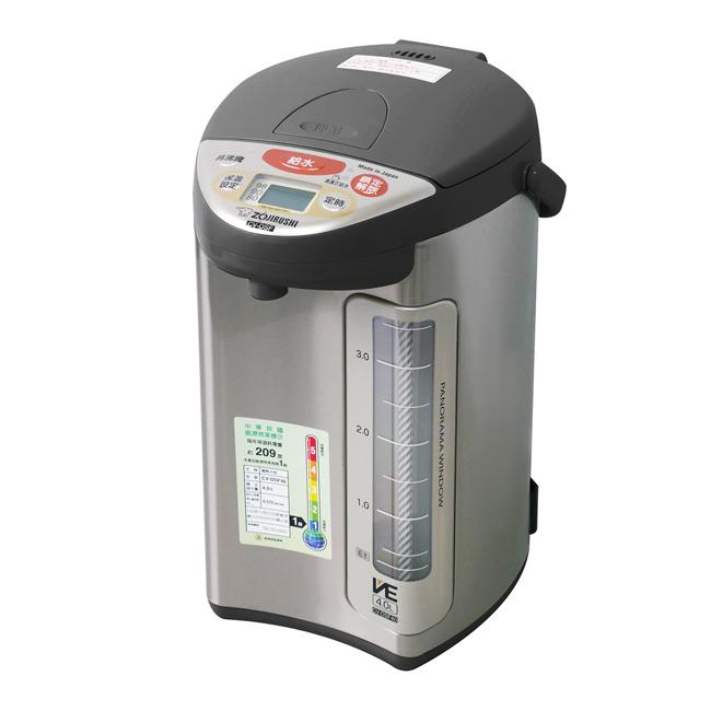 【象印】4公升SuperVE真空省電微電腦熱水瓶(XT) CV-DSF40