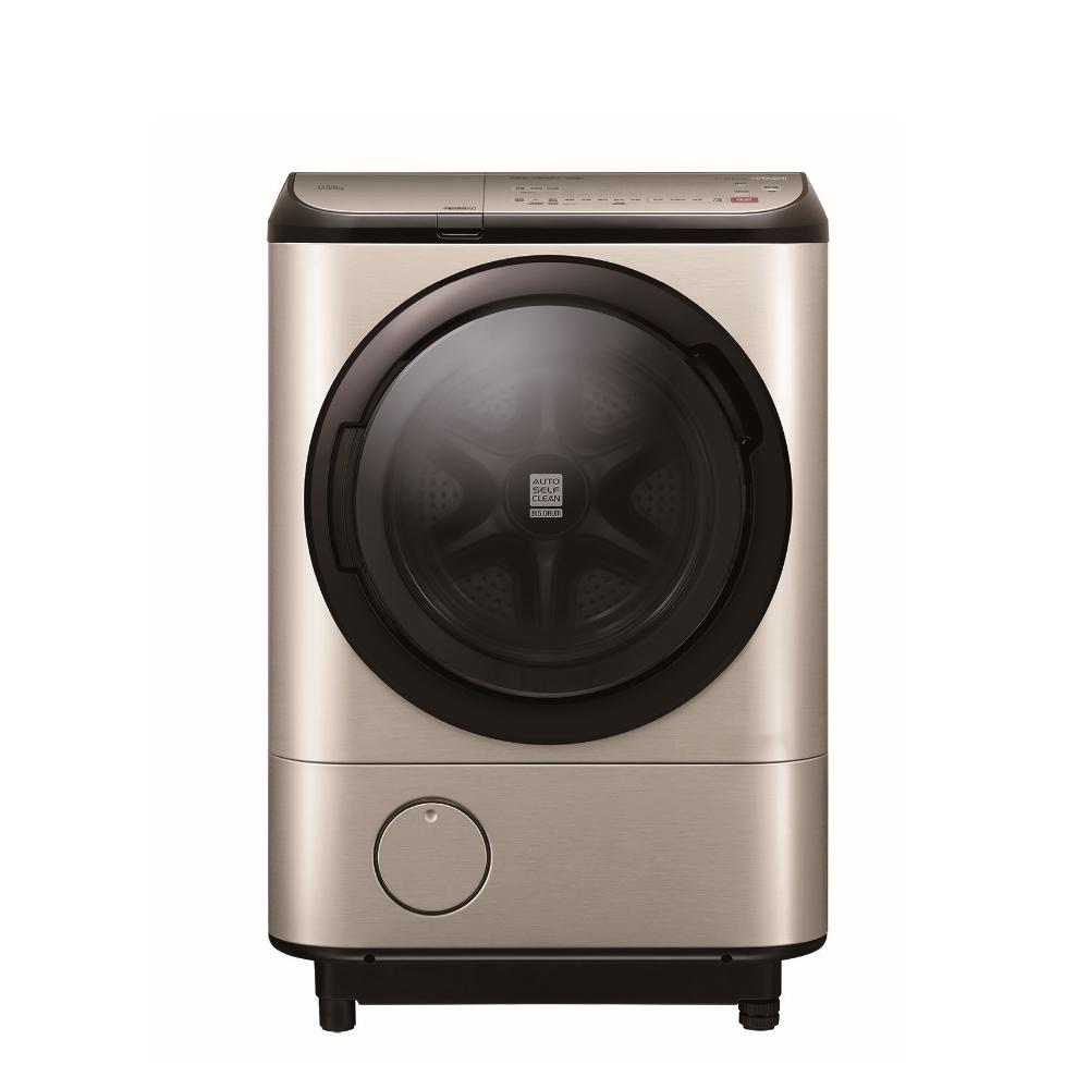 日立12.5公斤溫水滾筒(與BDNX125FHR同款)右開洗衣機璀璨金BDNX125FHRN