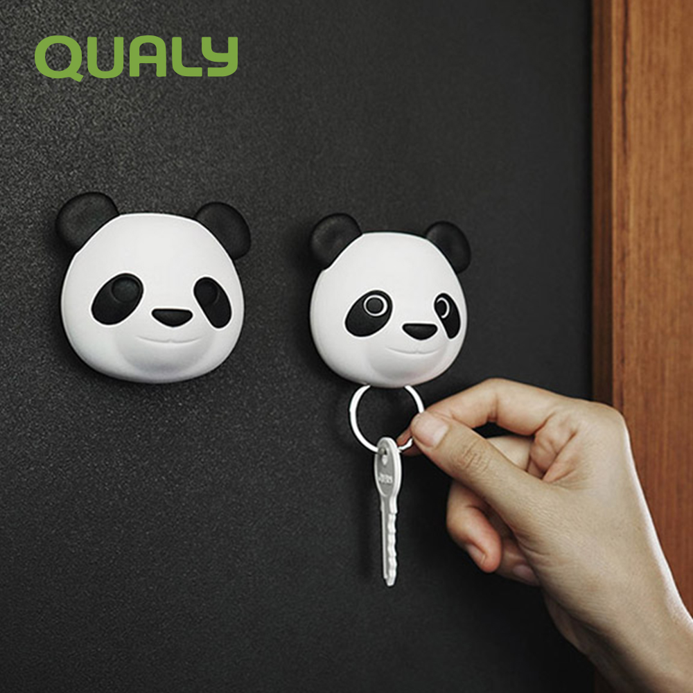 QUALY 壁掛鑰匙圈 熊貓