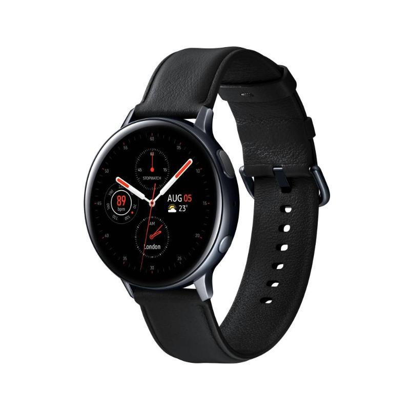 SAMSUNG Galaxy Watch Active2 GPS 藍牙智慧手錶 不鏽鋼 44mm午夜黑 R280