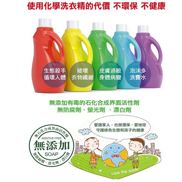 南僑水晶肥皂液體皂洗衣精 補充包1600ml*6入/箱-商品簡介圖6