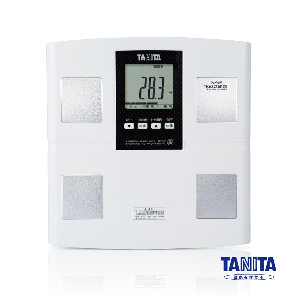 日本TANITA七合一體組成計BC756 (日本製)