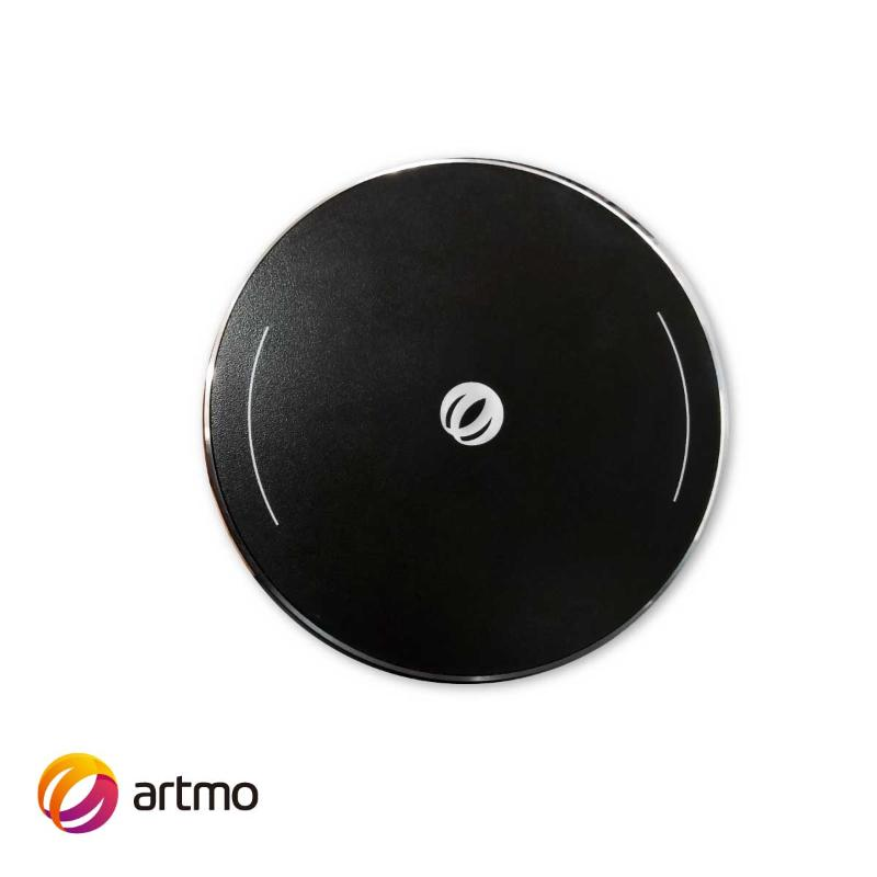 artmo 10W鋁合金無線充電盤 黑