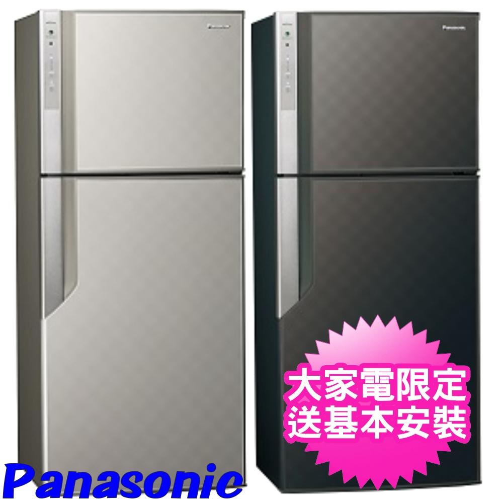 【Panasonic國際牌】422公升智慧節能變頻雙門冰箱 - 銀河灰 NR-B429GV-S