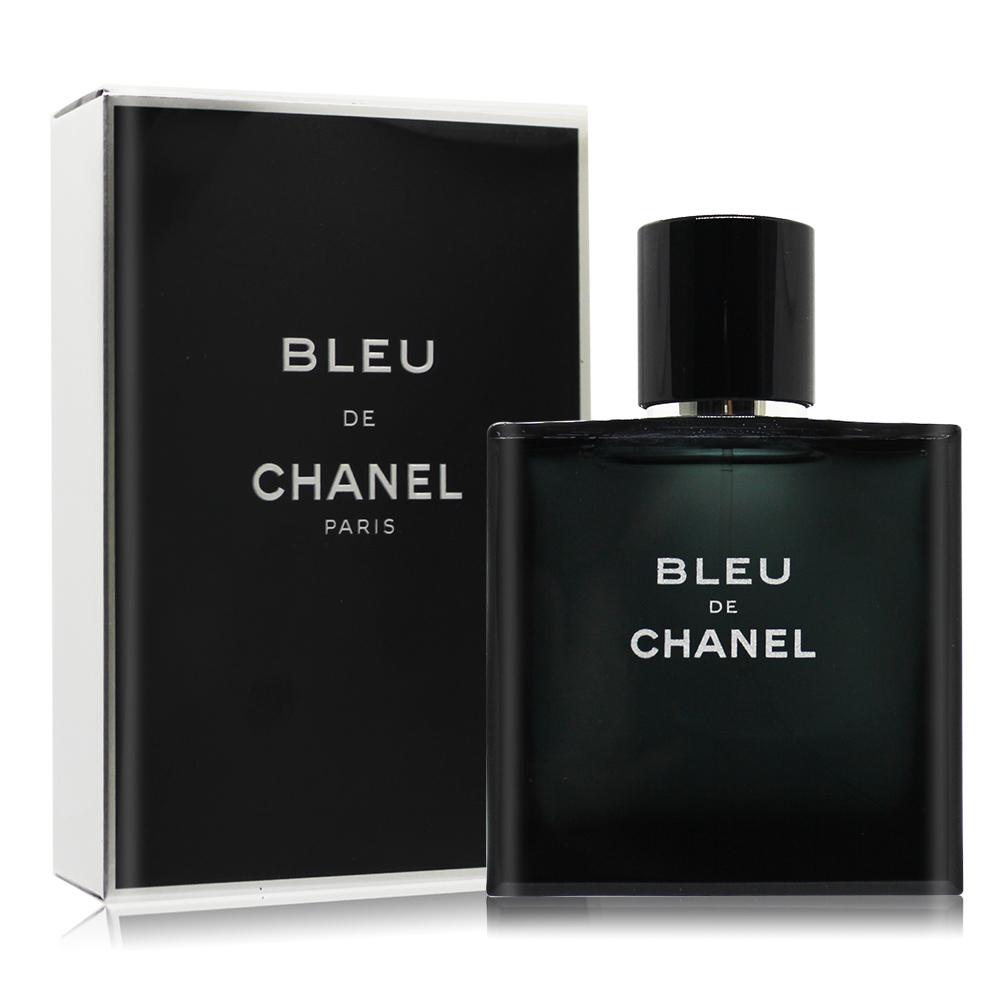 CHANEL 香奈兒 BLEU DE 藍色男性淡香水(50ml) EDT-國際航空版