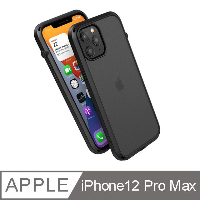CATALYST iPhone12 Pro Max (6.7吋) 防摔耐衝擊保護殼●霧黑