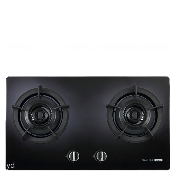 (全省安裝)櫻花雙口檯面爐黑色(與G-2721GB同款)瓦斯爐桶裝瓦斯G-2721GBL