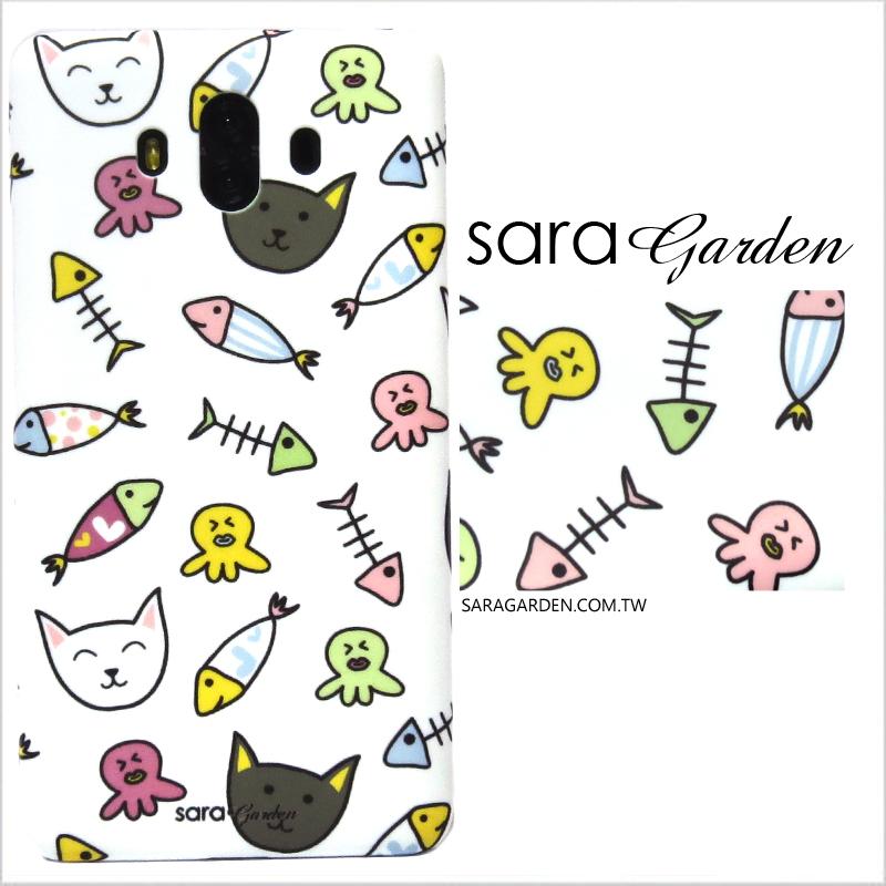 【Sara Garden】客製化 手機殼 OPPO R11S r11S 手繪可愛貓咪 手工 保護殼 硬殼