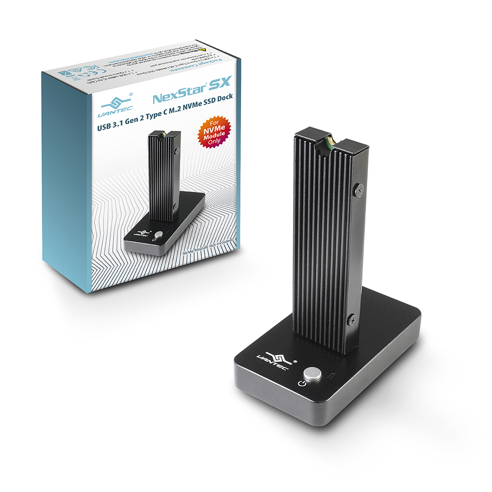 熱銷!! 新品!! VANTEC 凡達克 NexStar SX USB 3.1 Gen 2 Type C M.2 NVMe SSD 外接座