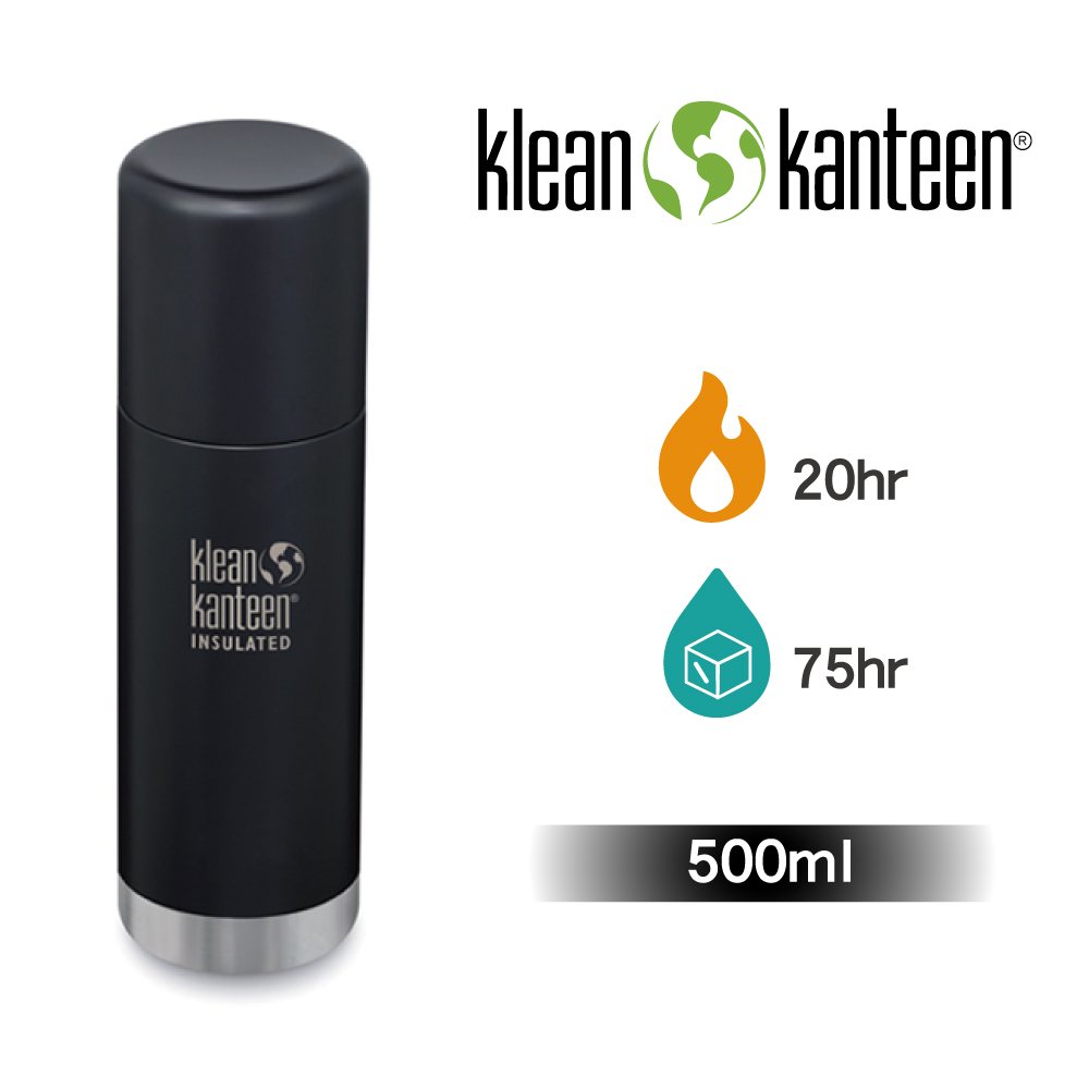 【美國Klean Kanteen】TKPro不鏽鋼保溫瓶-500ml-消光黑