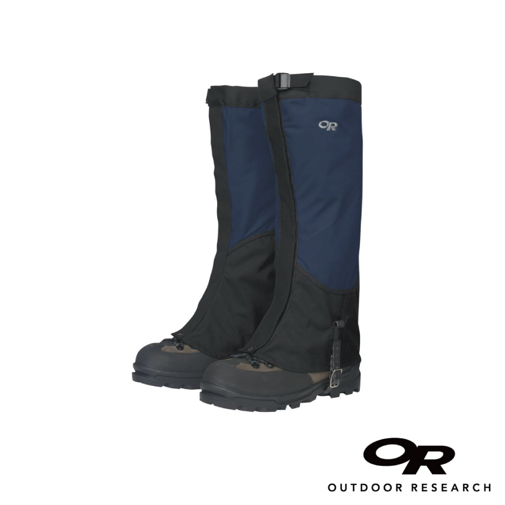 【美國Outdoor Research】男款Verglas防水登山綁腿-藍色L