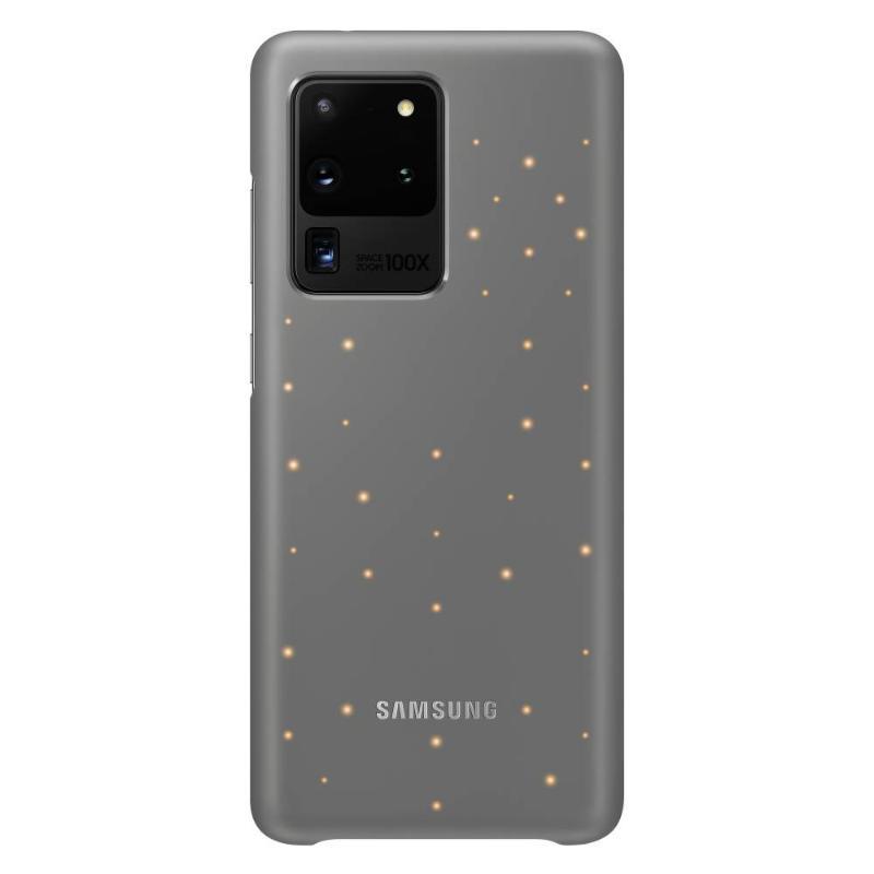 SAMSUNG Galaxy S20 Ultra 5G LED智慧背蓋 灰