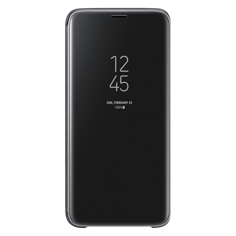 SAMSUNG Galaxy S9透視感應皮套(立架式) 黑色