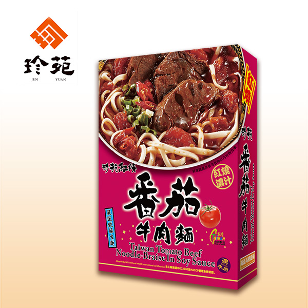 《珍苑》濃汁紅燒番茄牛肉麵(常溫)(530g/份,共3份)