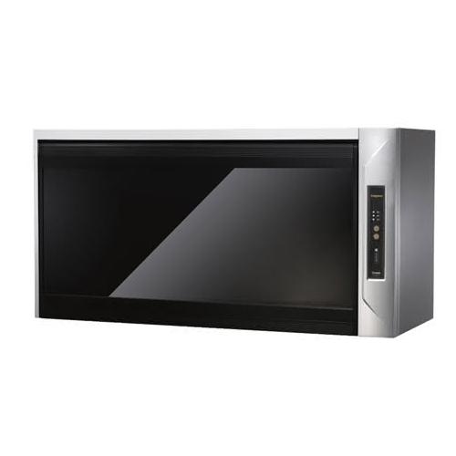 (全省原廠安裝)莊頭北 80公分臭氧殺菌紫外線筷架懸掛式烘碗機黑玻璃 TD-3205G-80CM
