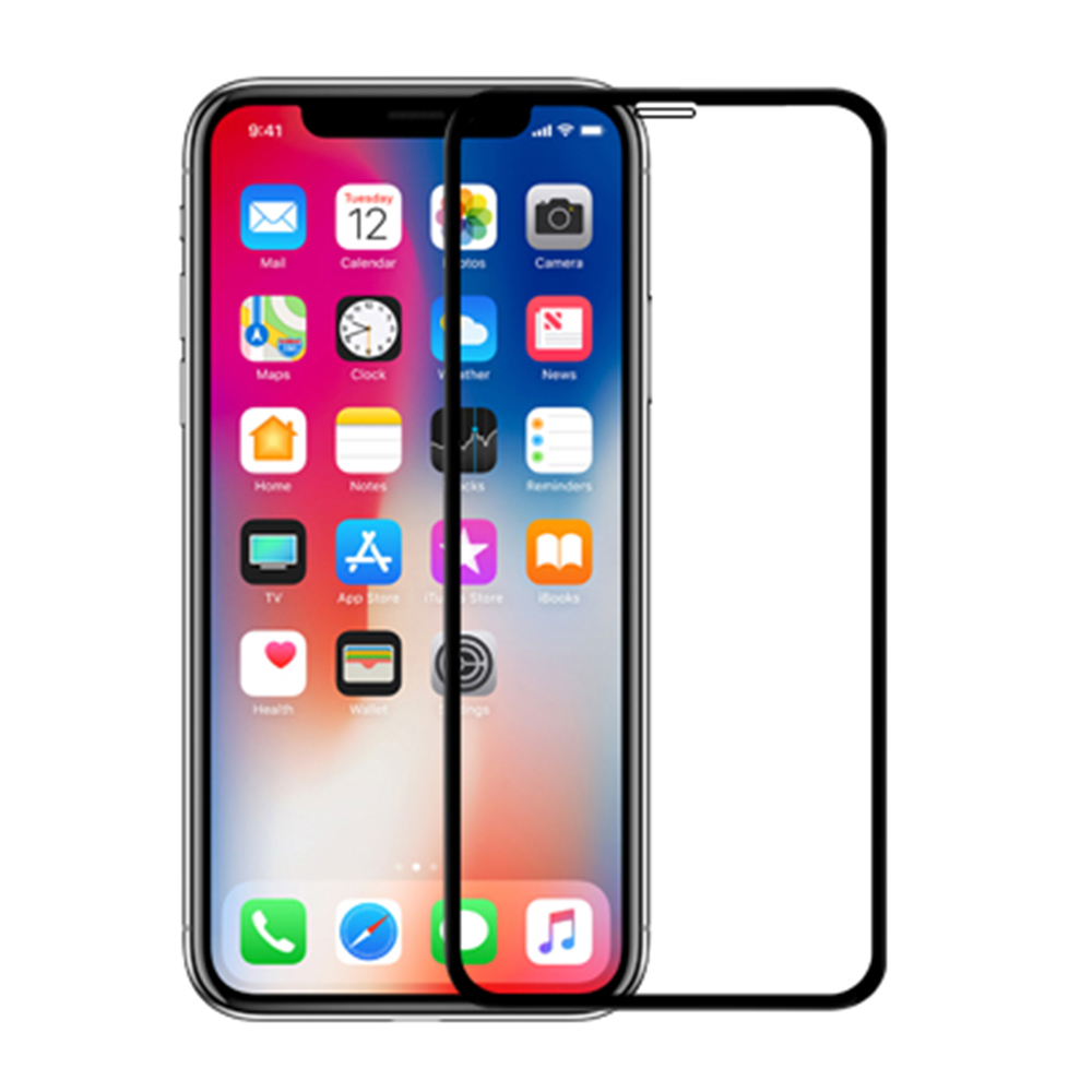 NILLKIN Apple iPhone X/Xs XD CP+ MAX 滿版玻璃貼(黑色)