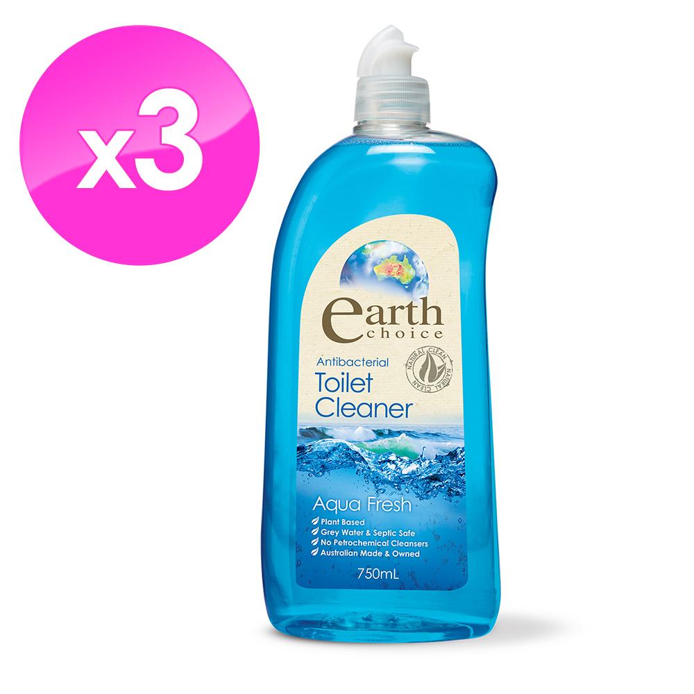【澳洲Natures Organics】植粹浴廁清潔劑(清新海洋)750mlx3入