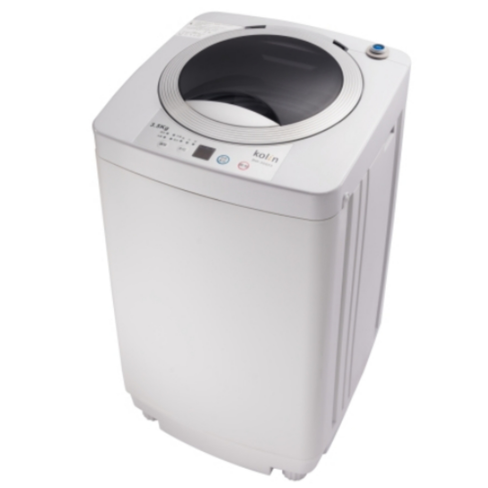 【KOLIN 歌林】3.5KG 單槽洗衣機-灰白 BW-35S03(含運無安裝)