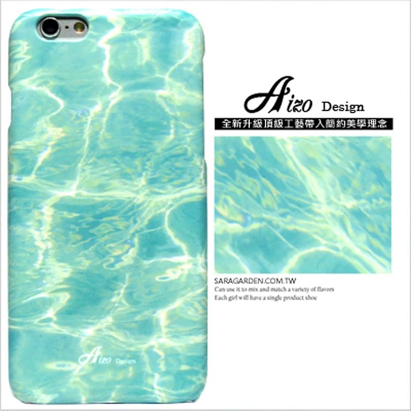【AIZO】客製化 手機殼 蘋果 iPhone 6plus 6SPlus i6+ i6s+ 湛藍 海洋 波浪 波紋 保護殼 硬殼