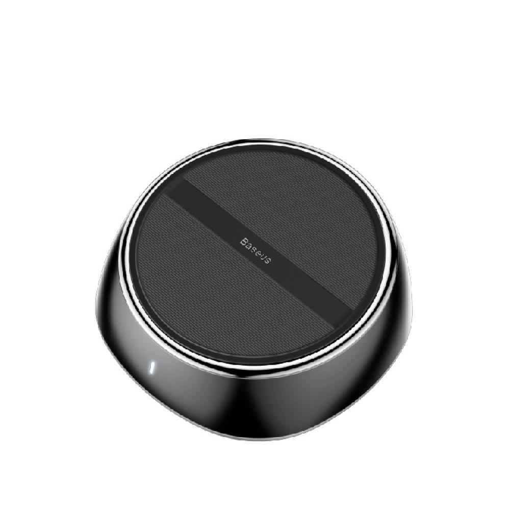 Baseus 倍思 小星空2合1無線充電器3孔USB - 黑色