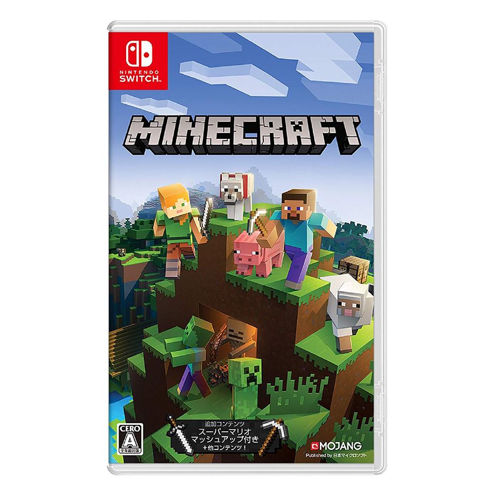 Nintendo Switch 我的世界 Minecraft_日版含中文