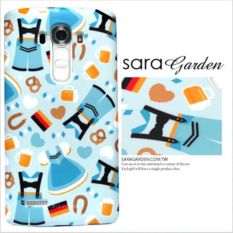 【Sara Garden】客製化 手機殼 LG G4 Stylus H630 5.7吋 鄉村慕尼黑啤酒節 保護殼 硬殼
